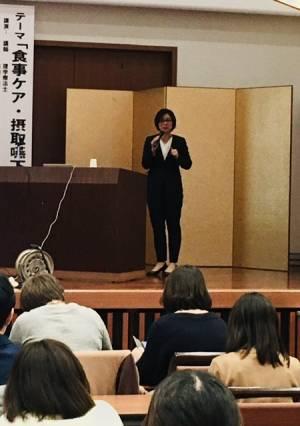 食事ケア・摂取嚥下支援研修会を開催しました。